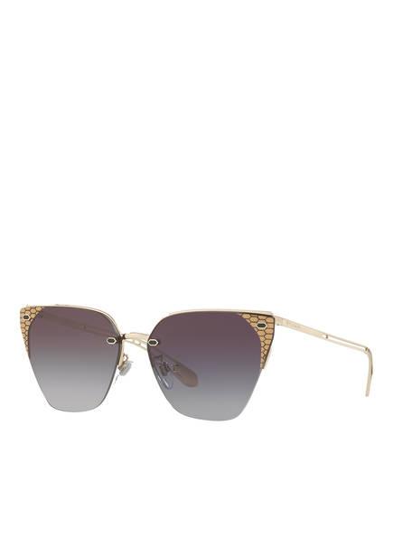 BVLGARI Sunglasses Sonnenbrille BV6116, Farbe: 278/8G -  GOLD/ GRAU VERLAUF (Bild 1)
