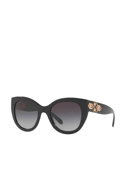 BVLGARI Sunglasses Sonnenbrille BV8214B mit Schmucksteinbesatz , Farbe: 501/8G - SCHWARZ/ GRAU VERLAUF (Bild 1)