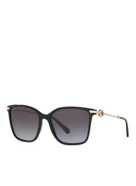 BVLGARI Sunglasses Sonnenbrille BV 8222, Farbe: 501/8G - SCHWARZ/ GRAU VERLAUF (Bild 1)