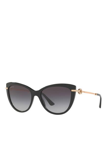 BVLGARI Sunglasses Sonnenbrille BV8218B, Farbe: 501/8G - SCHWARZ/ GRAU VERLAUF (Bild 1)