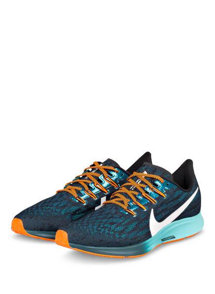 Nike Laufschuhe AIR ZOOM PEGASUS 36, Farbe: SCHWARZ/ GRÜN (Bild 1)