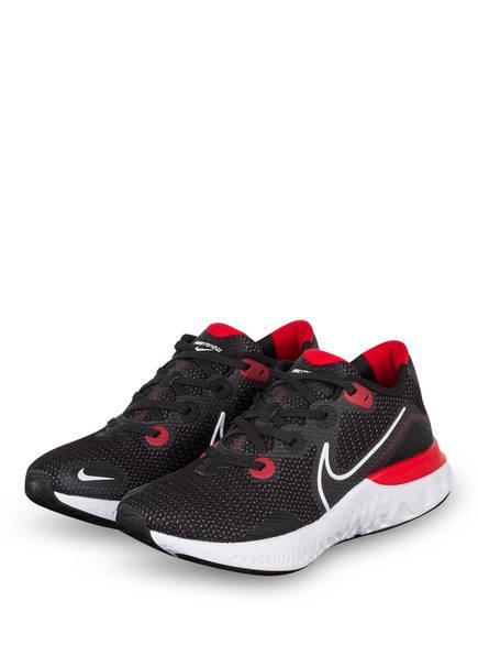 Nike Laufschuhe RENEW RUN, Farbe: SCHWARZ/ ROT/ WEISS (Bild 1)