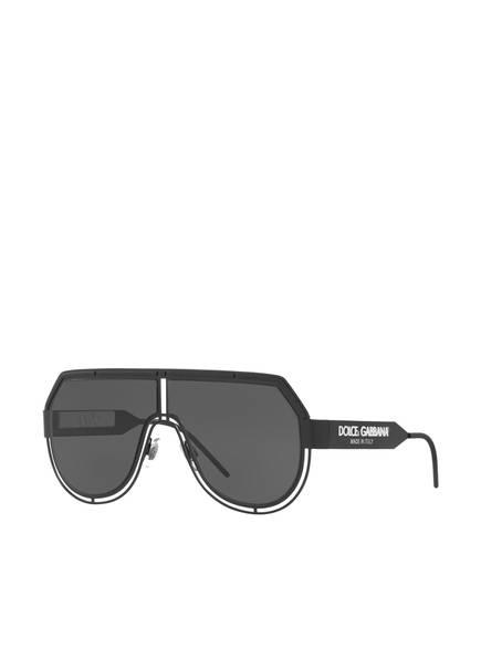 DOLCE&GABBANA Sonnenbrille DG2231, Farbe: 327687 - SCHWARZ/ SCHWARZ (Bild 1)