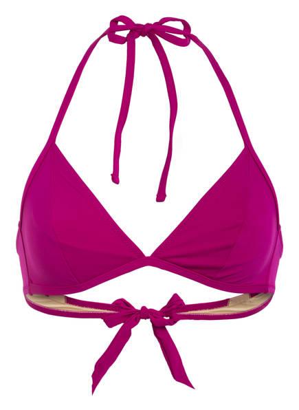 MARIE JO Triangel-Bikini-Top AURELIE , Farbe: FUCHSIA (Bild 1)