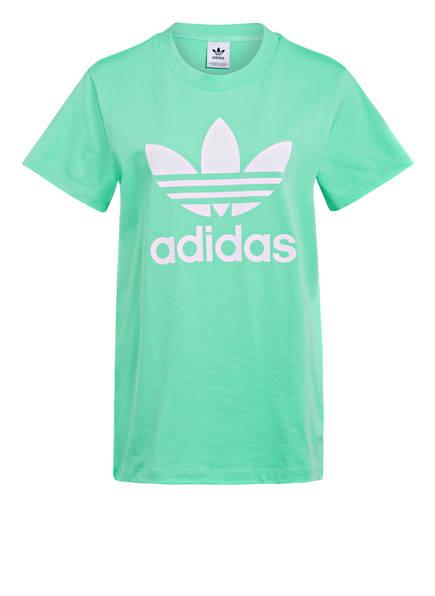 adidas Originals Oversized-Shirt, Farbe: MINT/ WEISS (Bild 1)