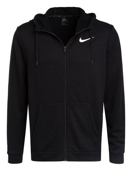 Nike Sweatjacke DRI-FIT, Farbe: SCHWARZ (Bild 1)