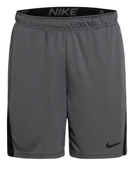 Nike Trainingsshorts DRI-FIT, Farbe: GRAU/ SCHWARZ (Bild 1)