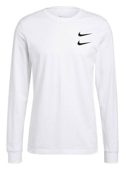 Nike Longsleeve SWOOSH, Farbe: WEISS (Bild 1)