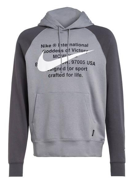 Nike Hoodie SWOOSH, Farbe: GRAU (Bild 1)