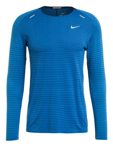Nike Longsleeve TECHKNIT ULTRA, Farbe: BLAU  (Bild 1)
