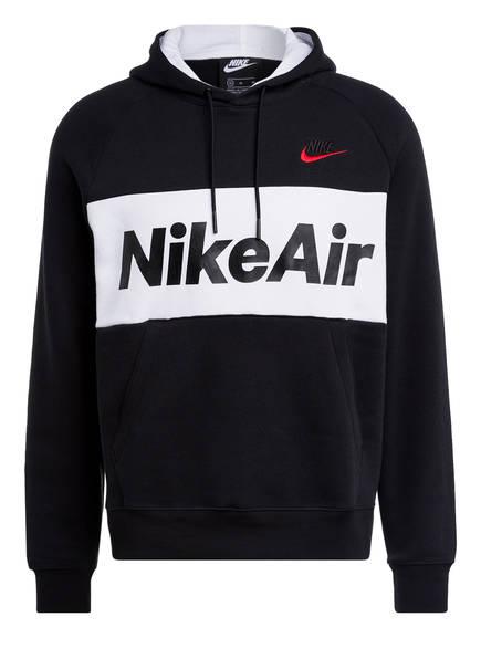 Nike Hoodie AIR, Farbe: SCHWARZ/ WEISS (Bild 1)