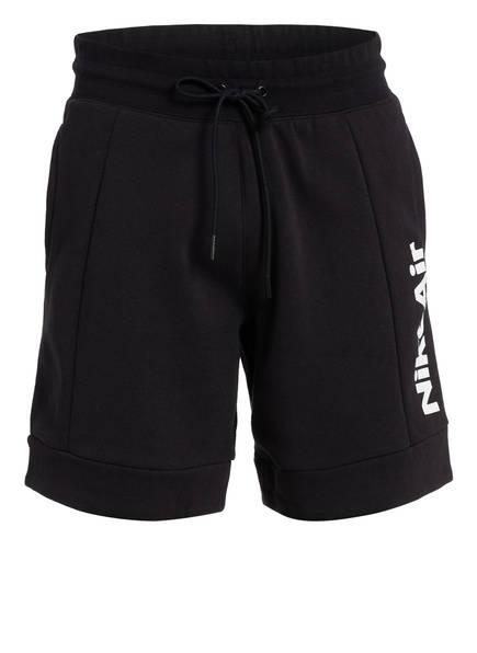 Nike Sweatshorts AIR, Farbe: SCHWARZ (Bild 1)