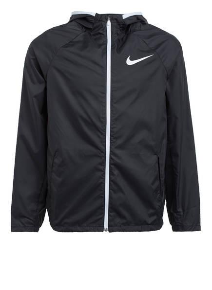Nike Trainingsjacke mit Mesh-Einsätzen, Farbe: SCHWARZ (Bild 1)