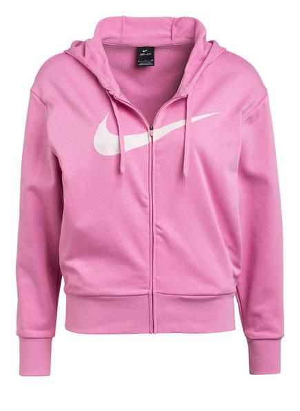 Nike Sweatjacke DRI-FIT GET FIT, Farbe: ROSA (Bild 1)
