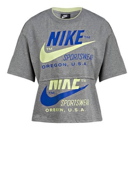 Nike T-Shirt, Farbe: HELLGRAU MELIERT (Bild 1)