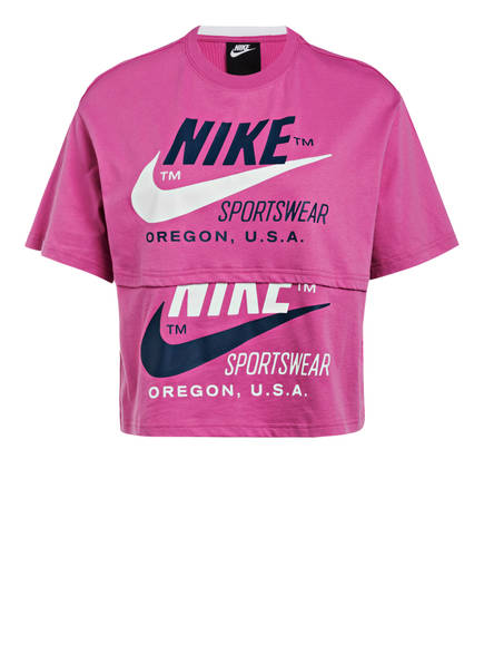 Nike T-Shirt, Farbe: FUCHSIA (Bild 1)