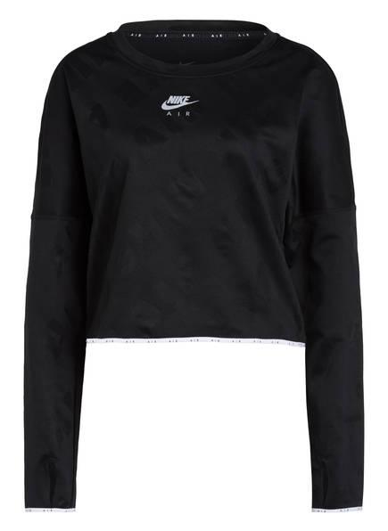 Nike Laufshirt AIR, Farbe: SCHWARZ (Bild 1)