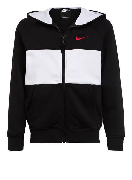 Nike Sweatjacke AIR, Farbe: SCHWARZ/ WEISS (Bild 1)
