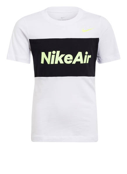 Nike T-Shirt AIR, Farbe: WEISS/ SCHWARZ (Bild 1)