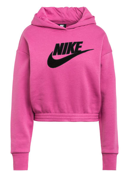 Nike Cropped-Hoodie ICON CLASH, Farbe: FUCHSIA (Bild 1)