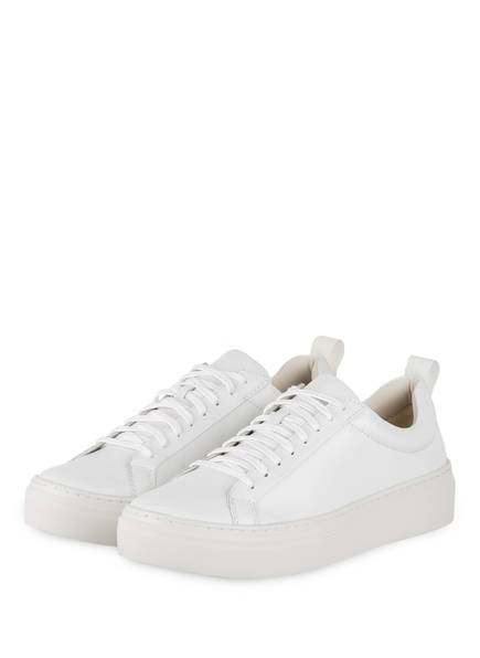 Vagabond Plateau-Sneaker weiss