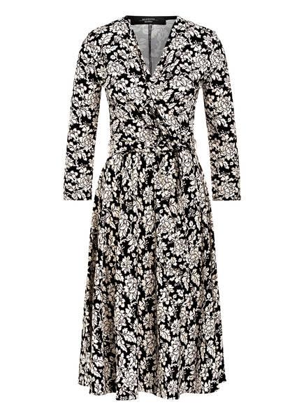 WEEKEND MaxMara Kleid ACQUA mit 3/4-Arm, Farbe: SCHWARZ/ CREME (Bild 1)