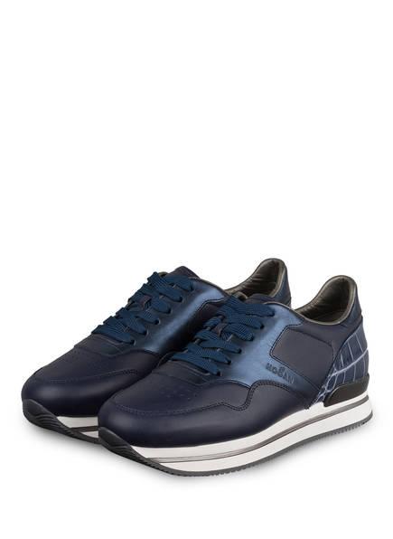 HOGAN Sneaker H222, Farbe: DUNKELBLAU (Bild 1)
