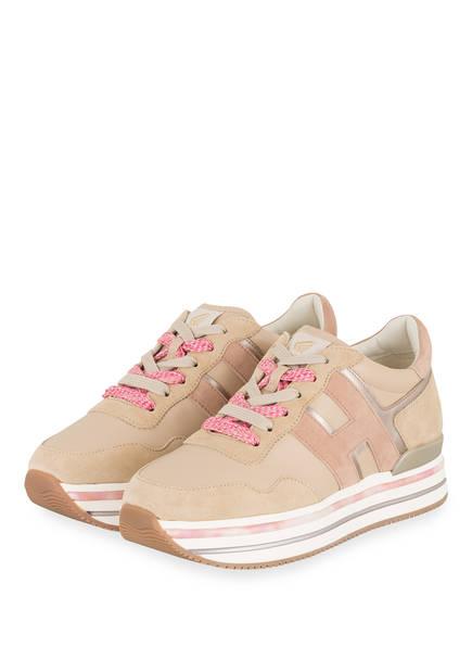 HOGAN Plateau-Sneaker, Farbe: BEIGE/ NUDE (Bild 1)