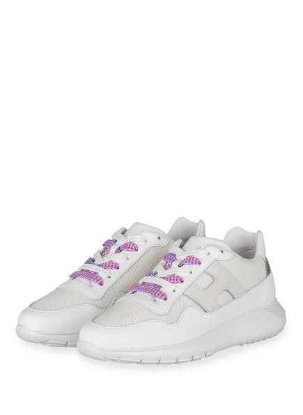 HOGAN Plateau-Sneaker, Farbe: WEISS/ CREME (Bild 1)