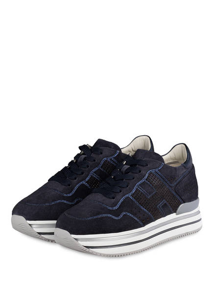 HOGAN Plateau-Sneaker, Farbe: DUNKELBLAU (Bild 1)