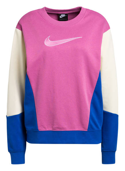 Nike Sweatshirt, Farbe: FUCHSIA/ CREME/ BLAU (Bild 1)