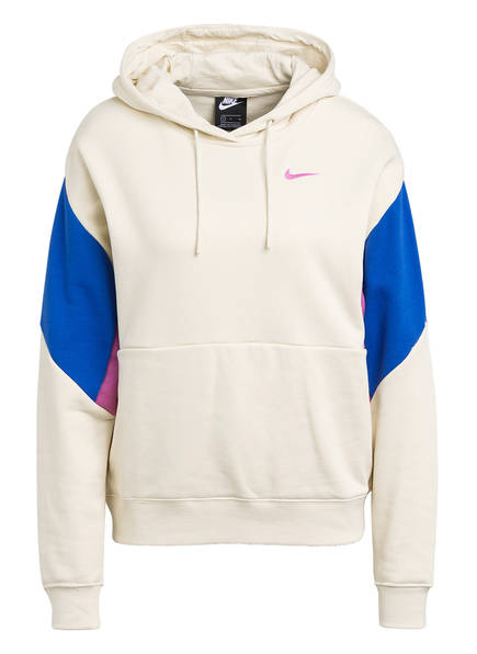 Nike Hoodie, Farbe: ECRU/ BLAU/ LILA (Bild 1)