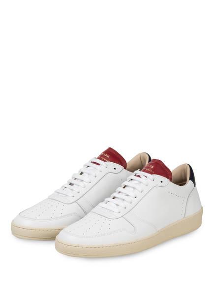 ZESPÀ, AIX-EN-PROVENCE Sneaker, Farbe: WEISS/ DUNKELROT/ DUNKELBLAU (Bild 1)