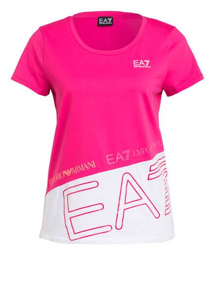 EA7 EMPORIO ARMANI T-Shirt, Farbe: PINK (Bild 1)