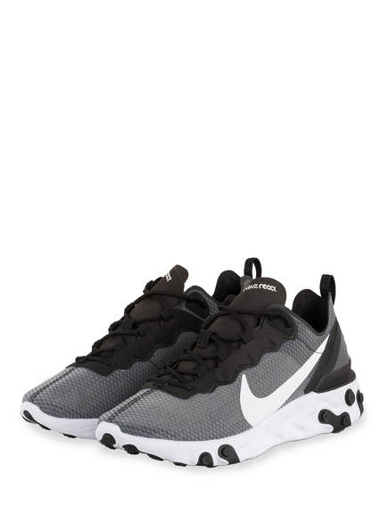 Nike Sneaker REACT 55 SE, Farbe: SCHWARZ/ GRAU (Bild 1)