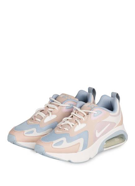 Nike Sneaker AIR MAX 200, Farbe: HELLBLAU/ BEIGE/ HELLROSA (Bild 1)