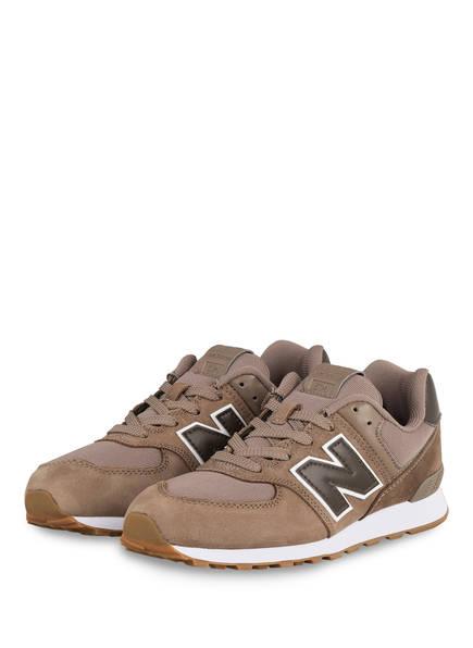 new balance Sneaker 574, Farbe: HELLBRAUN (Bild 1)