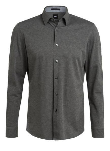 BOSS Hemd LUKAS Regular Fit, Farbe: DUNKELGRAU (Bild 1)