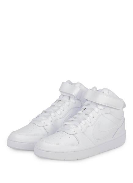 Nike Sneaker COURT BOROUGH MID 2, Farbe: WEISS (Bild 1)
