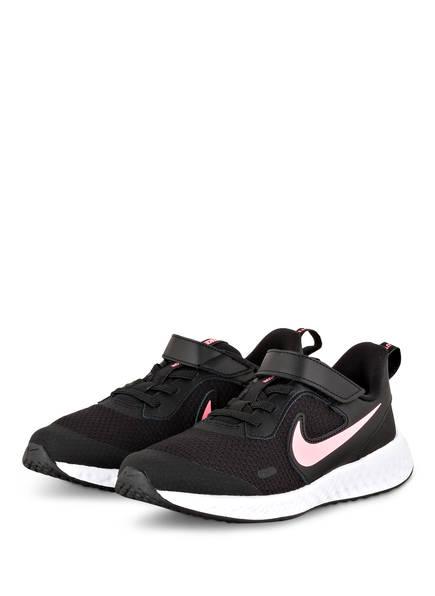 Nike Laufschuhe REVOLUTION 5, Farbe: SCHWARZ/ ROSE (Bild 1)