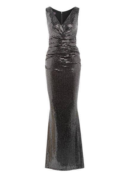 TALBOT RUNHOF Abendkleid BOSSA2 mit Paillettenbesatz, Farbe: SCHWARZ/ SILBER (Bild 1)