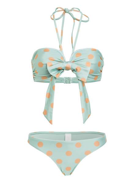 ZIMMERMANN Bandeau-Bikini KIRRA , Farbe: MINT/ HELLORANGE (Bild 1)