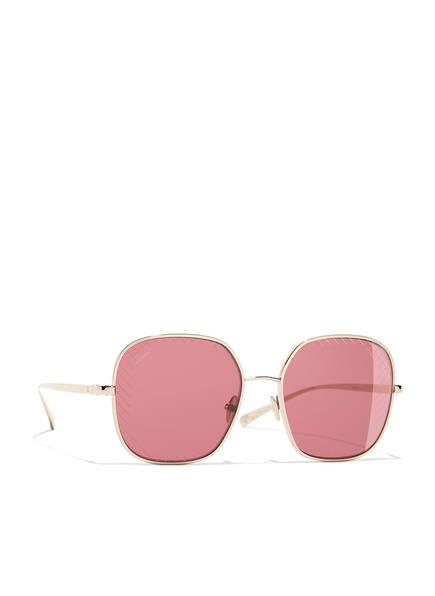 CHANEL Quadratische Sonnenbrille, Farbe: C3950H - GOLD/ HELLROT (Bild 1)