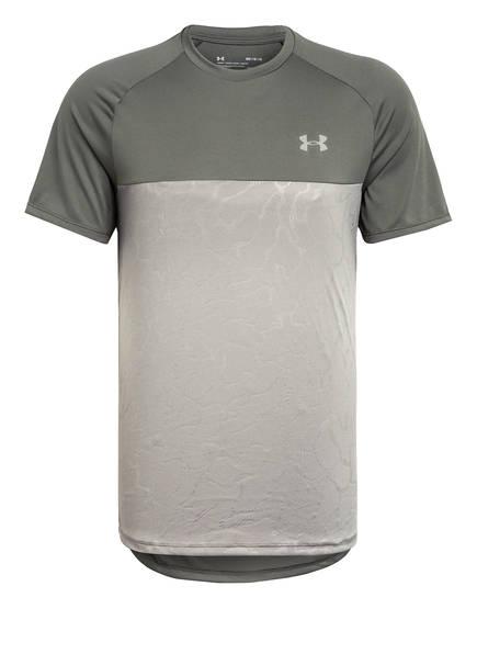 UNDER ARMOUR T-Shirt UA TECH 2.0, Farbe: HELLGRAU/ GRAU (Bild 1)