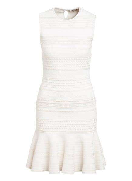 ALEXANDER McQUEEN Kleid mit Volantbesatz, Farbe: WEISS/ ECRU (Bild 1)