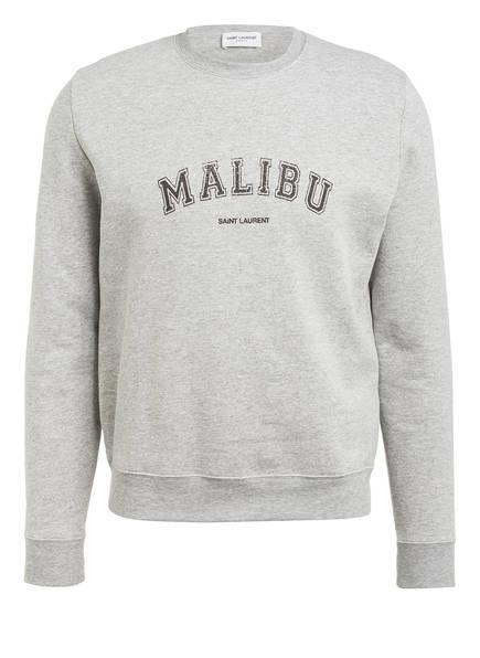 SAINT LAURENT Sweatshirt, Farbe: GRAU MELIERT (Bild 1)