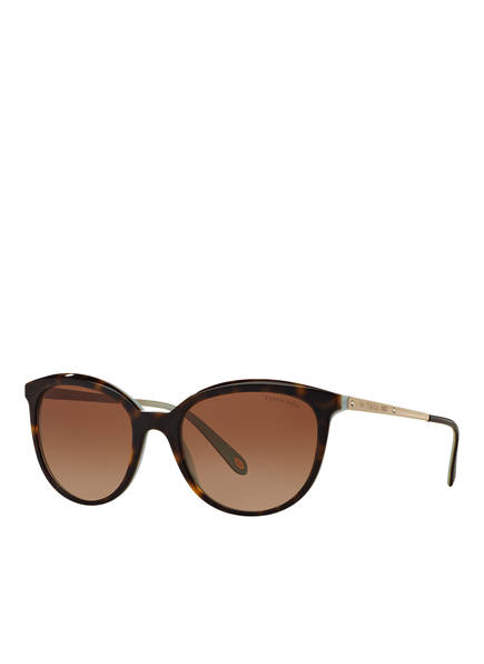 TIFFANY & Co. Sunglasses Sonnenbrille TF4117B, Farbe: 81343B - HAVANA/ BRAUN VERLAUF (Bild 1)