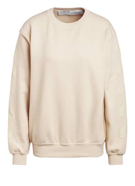 Off-White Sweatshirt, Farbe: HELLBEIGE (Bild 1)