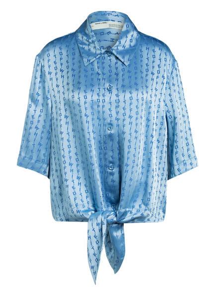 OFF-WHITE Bluse, Farbe: HELLBLAU (Bild 1)