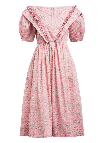 HORROR VACUI Kleid EMMA, Farbe: ROSA/ GRAU (Bild 1)